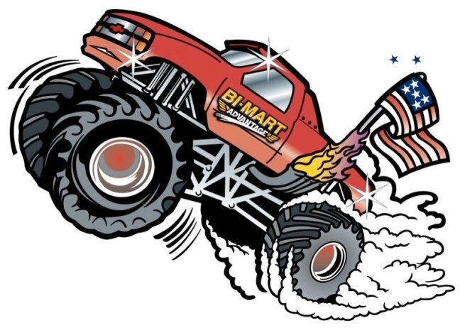 Bi-Mart's Monster Truck
