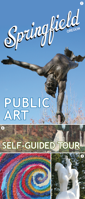 Springfield Public Art Self-Guided Tour Brochure